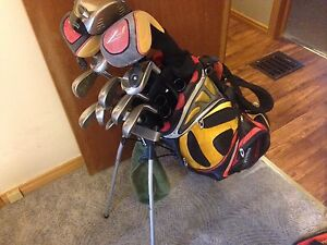LEFT HANDED R7 IRONS & SET FOR SALE