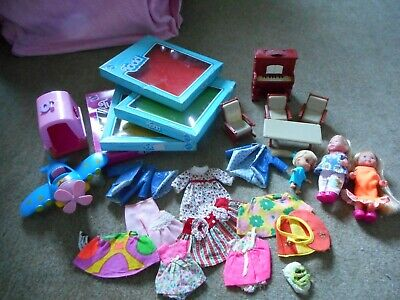 LOT VINTAGE POUR POUPEE BARBIE TUTTI.