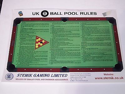 OFFICIAL POOL RULES (SG126)