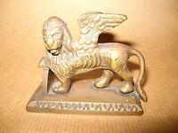 Leone San Marco Bronzetto Antico Serenissima Venezia Veneto -  - ebay.it
