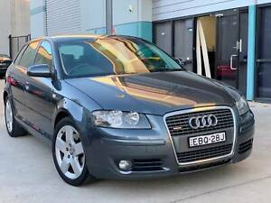 2007 AUDI A3 QUATTRO AWD TURBO 6SPD MANUAL South Windsor Hawkesbury Area Preview