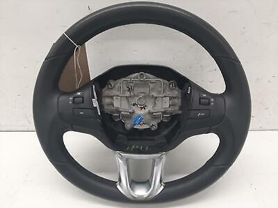 2017 PEUGEOT 208 Multifunctional Black Steering Wheel 619651800B
