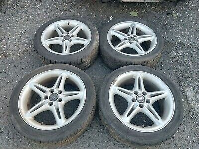 "17"" Genuine Volvo Canisto Alloy Wheels & 225/45/R17 Tyres"