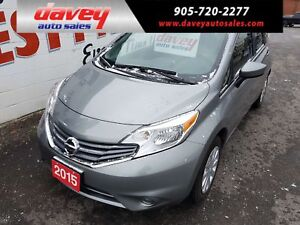 2015 Nissan Versa Note 1.6 SV BACK UP CAMERA, BLUETOOTH, CD P...