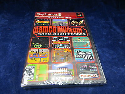 Namco Museum 50Th Anniverssary For Playstation 2  Ps2  New Greatest Hits