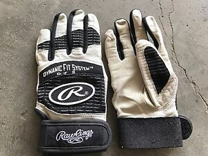 Rawlings bat gloves (youth S, generally used)