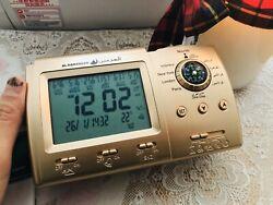 Digital Automatic Islamic Azan Alarm Table Clock Muslim Adhan Qibla Salah