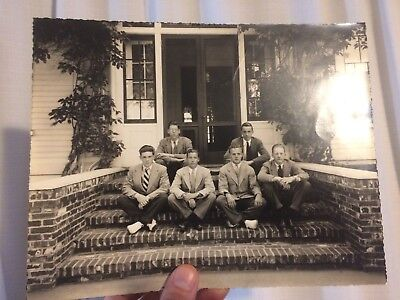 Great Vintage Black and White Photo-Young Men-1940's New York