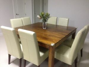 8 Seater Dinning Tabel with chairs Kellyville The Hills District Preview