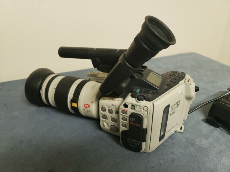 Canon 8mm L1 Video Camera And Recorder With Charger,  Bundle