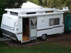 Caravan family Poptop - Windsor Windcheater 16 ft Bray Park Pine Rivers Area Preview