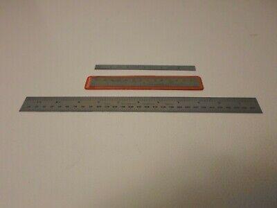 2 -- 6 Starrett Scales And 1 -- 12 Starrett Ruler