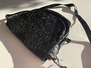 Mimco black leather bag Tarrawanna Wollongong Area Preview