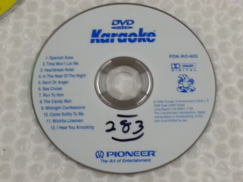 Pioneer DVD Karaoke Disc PDK-RO-605