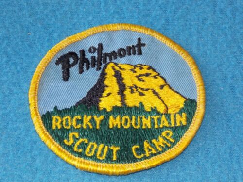 VINTAGE - Philmont Rocky Mountain Scout Camp Patch