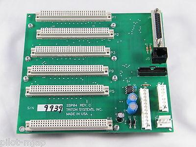 Triton 9100 Atm  6 Slot Pc Board Ssp04 Revision C