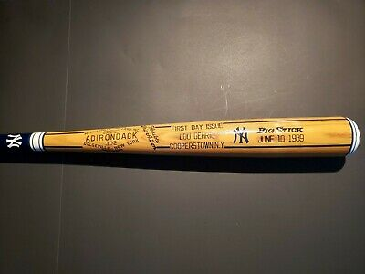 "Lou Gehrig 33"" Adirondack Custom Vintage New York Yankees Issue Day Baseball Bat"