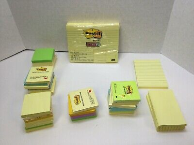 Post-it Notes Americas Favorite Sticky Note Multi-colors Asstd. Sizes 56 Ct