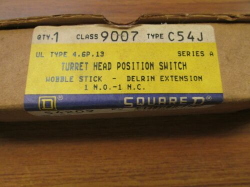 NIB. Square D Turret Head Position Switch Series A, Cat# 9007C54J ... VI-164