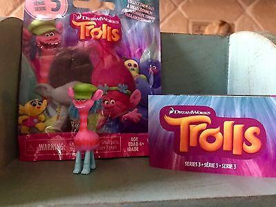 Dreamworks TROLLS Blind Bag SERIES 3 Cooper Giraffe Troll Hat HTF Toy - Blind Bag Toys