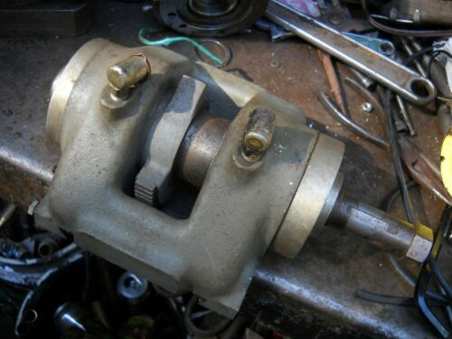 spindle assembly for barker hand miller machine shop