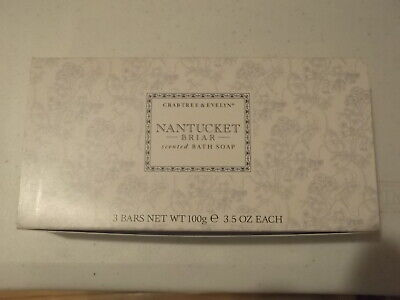 Crabtree Evelyn Nantucket Briar scented Bath Soap  Better be