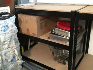 Stainless Steel Shelf - selling both for $30!