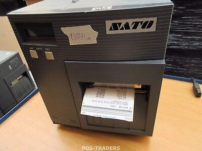 """SATO CL408E Parallel Thermo Label Drucker REWINDER 203dpi 4.1"""" 104mm - 13891 M"""