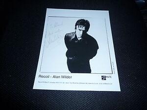 ALAN WILDER  signed Autogramm 20x25 cm DEPECHE MODE