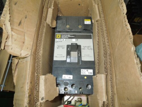 Square D I-line Kc341751394 175a 3p 480v Breaker W/ Shunt,aux & Alarm Switch New