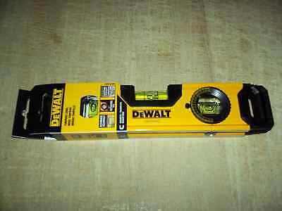 Dewalt 9 Magnetic Torpedo Level Wrotating Dial Brand New Only 19.75