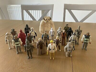 Vintage Star Wars Figures Job Lot Bundle 22 FIGURES