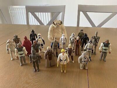 Vintage Star Wars Figures Job Lot Bundle 22 FIGURES
