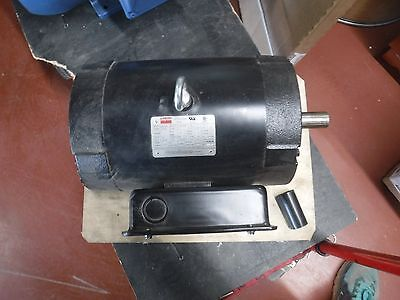 Dayton Air Compressor Motor 5 Hp 1740 208-230v 1824t T