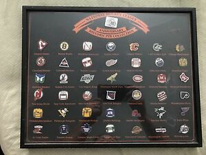 Hockey collector pins