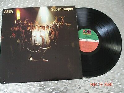 "ABBA ‎– ""Super Trouper""  Vintage Vinyl LP   Atlantic ‎– SD 16023  q2"