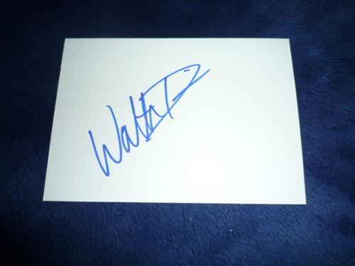 WALTER DAVIS signed Autogramm 10x15 cm In Person  WELTMEISTER 2005 3 Sprung USA