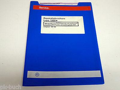 Reparatiebrochure VW Lupo Zelfdiagnose van automatische versnellingsbak 001