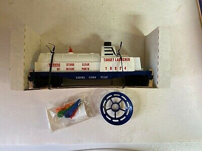 Lionel 6-19824 3470 US Army Target Launcher O-Gauge