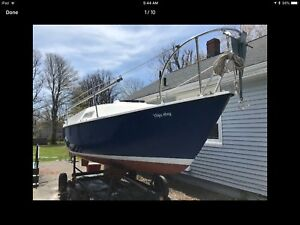 22' Seafarer Sailboat for sale. In the water and ready to go!