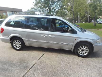 2001 Chrysler Grand Voyager Wagon auto Smithfield Parramatta Area Preview