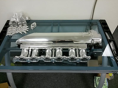 Sleeper Designs RMR Style 2JZ Billet Intake w/Throttle Body and Fuel Rail