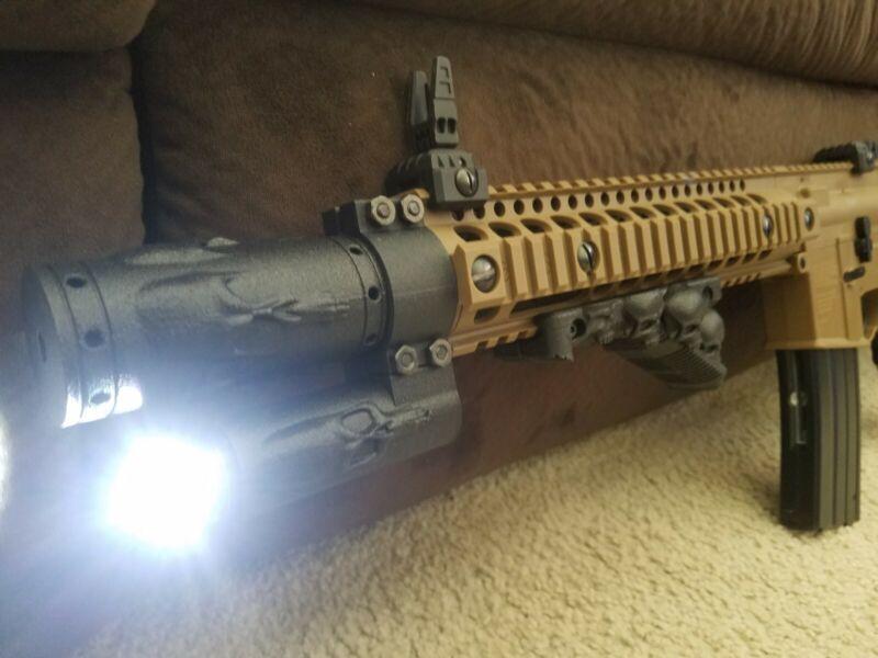 Muzzle Extender Hand Grip Made for Crosman DPMS SBR Co2 Full Auto BB Rifles