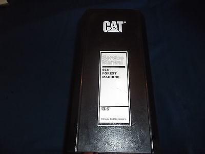 Cat Caterpillar 568 Forest Machine Service Shop Repair Book Manual Brb Yjx