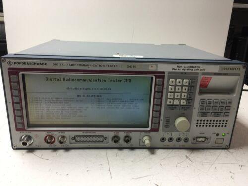 Rohde Schwarz CMD 55 Radio Communications Tester 1050.9008.05