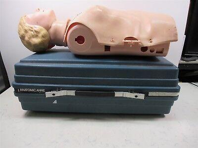 Laerdal Resusci Anne Female Torso Cpr Trainer Emt Training Manikin W Case