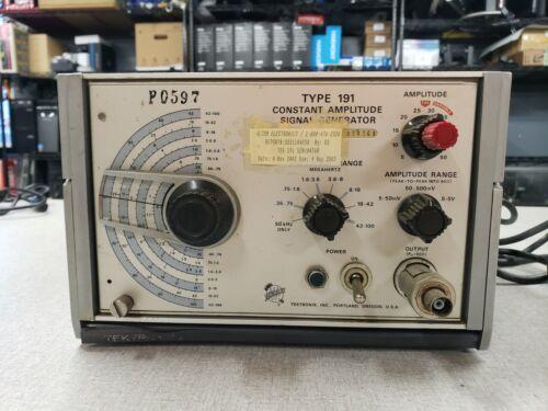 Tektronix Type 191 Constant Amplitude Signal Generator