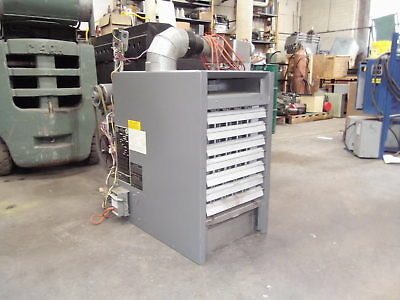 Sterling Radiator Model Qvb-100 100k Btuhr Natural Gas Fired Heater Unit