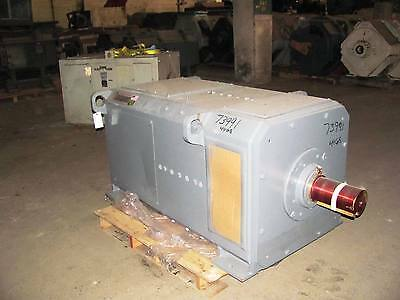 600 HP DC General Electric Motor, 1150 RPM, 4468 Frame, DPFV, 500 V