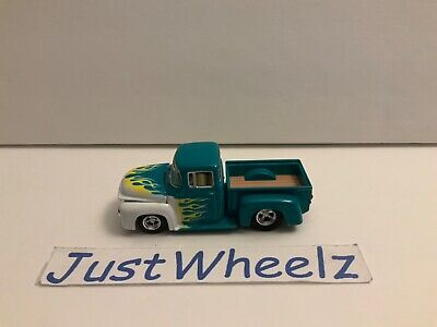 2000 Hot Wheels 100% Cool Collectibles '56 Ford Pickup w/ Real Riders NM Loose